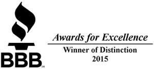 BBB Winner of Distinction 2015