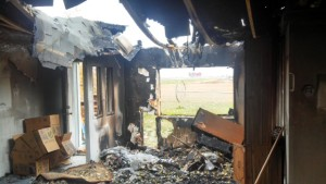 fire damage woodlands